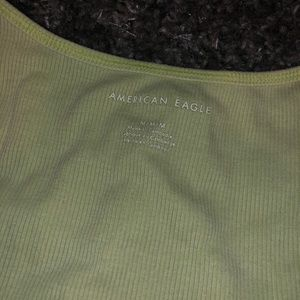 lime green/electric yellow americaneagle tank top